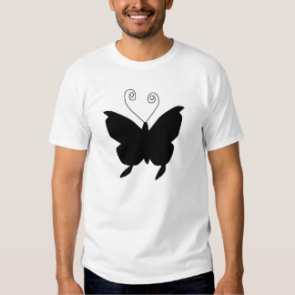 Borboleta da diva t-shirts