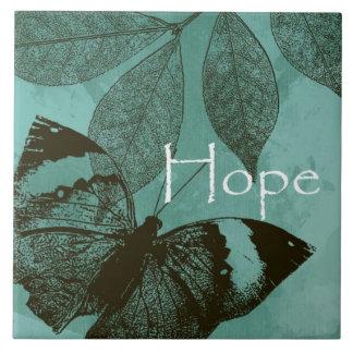 Borboleta da esperança azulejo
