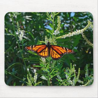 Borboleta de monarca Mousepad natural