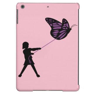 Borboleta em uma trela capa para iPad air