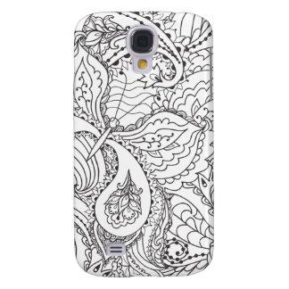 Borboleta floral decorativa - o múltiplo colore o capas personalizadas samsung galaxy s4