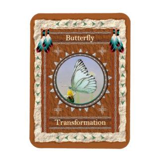 Borboleta - ímã de Flexi do vinil da transformação