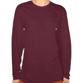 Borboleta laçado (malva) camiseta
