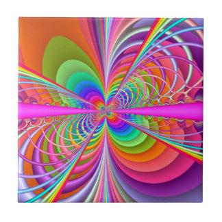 Borboleta lunática azulejo