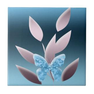 Borboleta místico azulejos