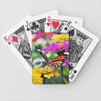 Borboleta nas flores #2 baralho para truco