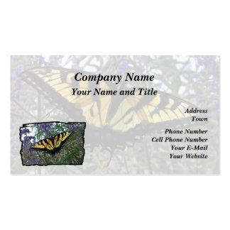 Borboleta oriental de Swallowtail do tigre Cartão De Visita