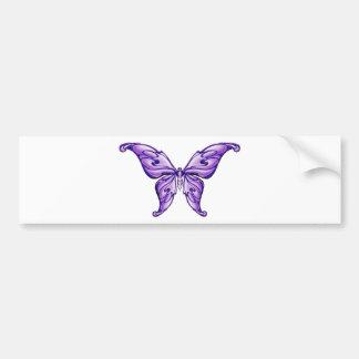 borboleta roxa bonito adesivo para carro