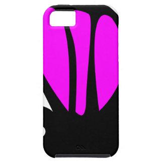 Borboleta roxa bonito capa tough para iPhone 5