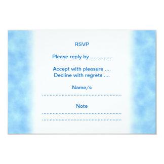 Borboleta roxa convite 8.89 x 12.7cm