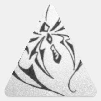 borboleta tribal de photo-40.JPG Adesivo Triangular