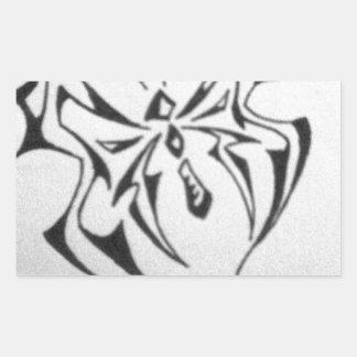 borboleta tribal de photo-40 JPG Adesivos Em Forma Retangular