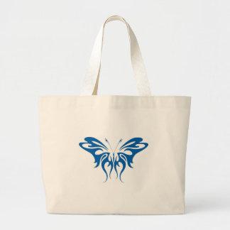 Borboleta tribal do estilo bolsas para compras