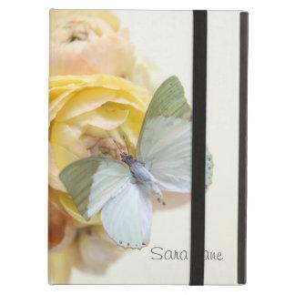borboleta verde pálido no kickstand do iPad das fl