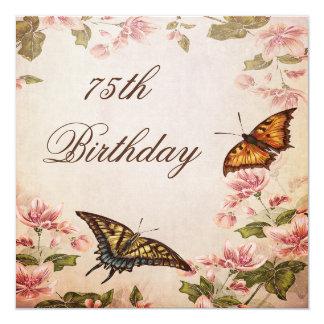 Borboletas & aniversário da flor da amêndoa do