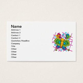 Borboletas Cartão De Visitas