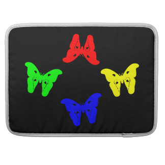Borboletas coloridas bolsa MacBook pro