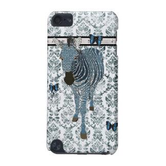 Borboletas de Boho & caixa azuis do damasco do Gru Capa Para iPod Touch 5G