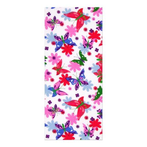 borboletas de COM dos padrões Convite Personalizado