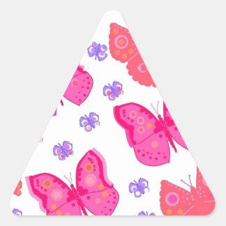 borboletas dig2.jpg adesivo em forma de triângulo