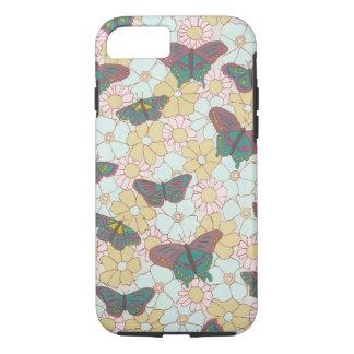 Borboletas e capas de iphone das flores