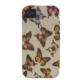 Borboletas selvagens capa para iPhone 4/4S