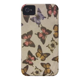 Borboletas selvagens capas para iPhone 4 Case-Mate