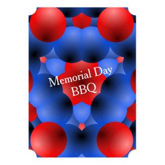 Borbulhagem sobre convites de festas do Memorial