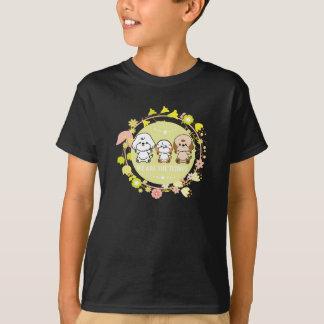 Borbulhantes e amigo-nós são os teddys camiseta