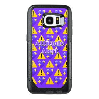 Borda alerta Otterbox da galáxia S7 de Samsung da