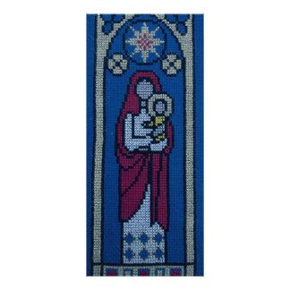 Bordado cristão 10.16 x 22.86cm panfleto