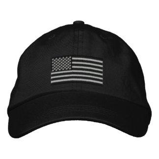 Bordado dos EUA da bandeira americana grande Boné Bordado