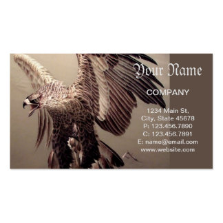 Bordado Eagle Cartão De Visita