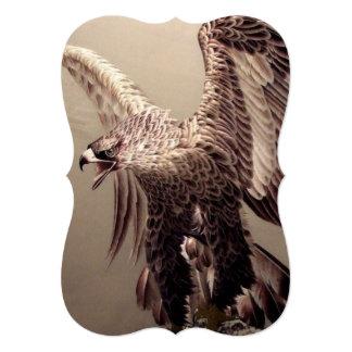 Bordado Eagle Convite 12.7 X 17.78cm