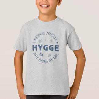 Bordadura você mesmo W. Hygge (texto azul escuro) Camiseta