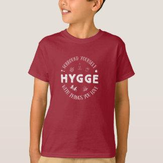 Bordadura você mesmo W. Hygge (texto branco) Camiseta