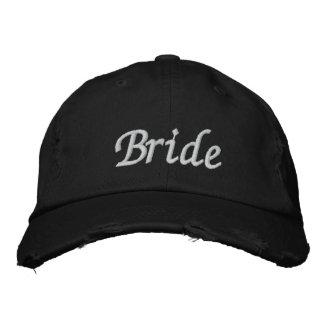 Borde o boné do chapéu   da noiva dos presentes