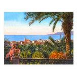 Bordighera, italiano Riviera, Cartão Postal