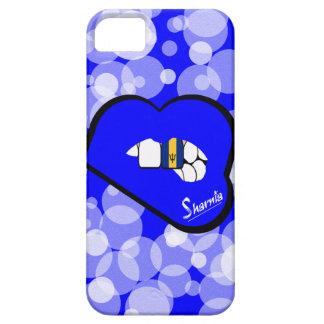 Bordo azul da capa de telefone móvel de Barbados