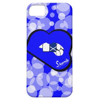 Bordo azul da capa de telefone móvel de Scotland