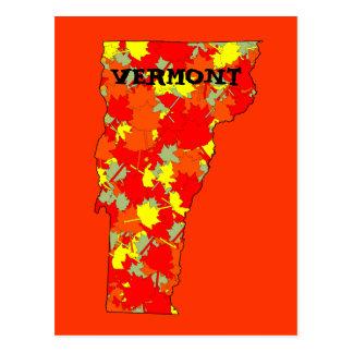 Bordo de Vermont Cartão Postal