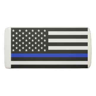 Borracha A polícia denominou a bandeira americana