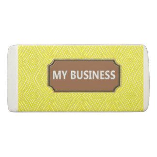 Borracha Amarelo do réptil meu eliminador do negócio