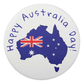 Borracha Bandeira australiana & Aussie orgulhoso -