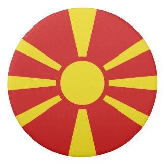 Borracha Bandeira de Macedónia