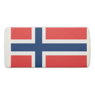 Borracha Bandeira norueguesa do orgulho do escandinavo de