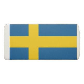 Borracha Bandeira sueco do orgulho do escandinavo da suecia