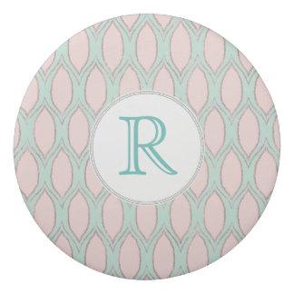 Borracha coram teste padrão geométrico moderno do rosa e da