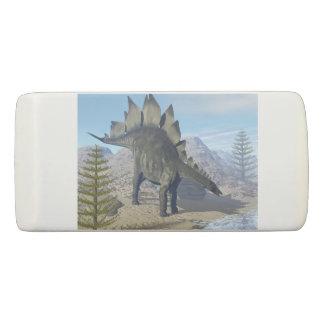 Borracha Dinossauro do Stegosaurus - 3D rendem