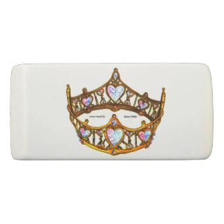 Borracha Eliminador da tiara da coroa dos corações da